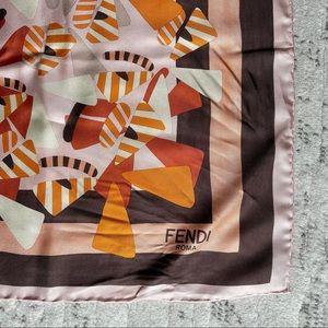 FENDI Silk Scarf 90x90